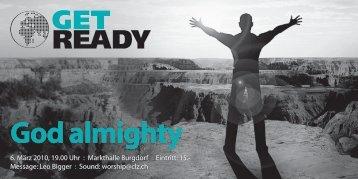 God almighty - BewegungPlus