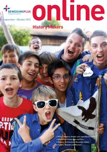 September-Oktober: History Makers - BewegungPlus