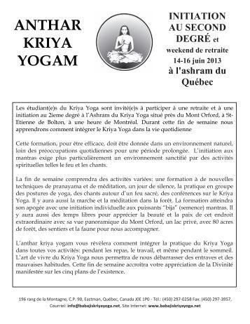 Kriya Yoga Of Babaji 144 Techniques Pdf Files Eataloha