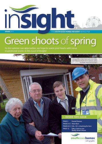 Insight Spring 2013 - South Essex Homes