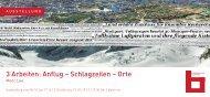 3 Arbeiten: Anflug – Schlagzeilen – Orte - Stadtbibliothek Stuttgart