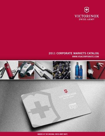 2011 CORPORATE MARKETS CATALOG - ADsources.com