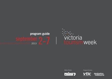 september 2-7 - Destination Melbourne