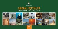 Guida all'ospitalità 2011 - Provincia di Oristano