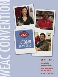 Open Convention Booklet as a pdf file - Wisconsin Education ...
