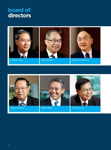 Board of Directors (p18) - Singapore Press Holdings