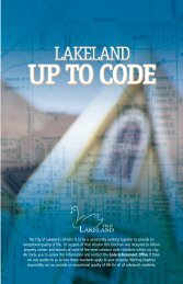 Up to Code - City of Lakeland