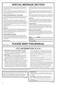 Owner's Manual Bedienungsanleitung Mode d'emploi ... - Yamaha - Seite 2
