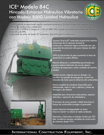 ICE® Modelo 84C - ICEUSA