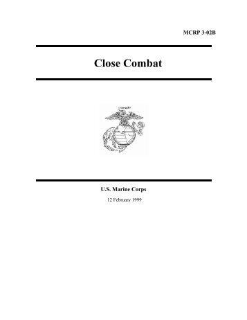 US Marine Corps Close Combat - Judo Information Site