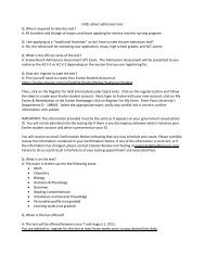 FAQs about admissions test Q: Who is required to ... - Pace University