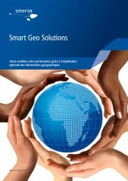 Smart Geo Solutions - Steria