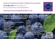 PC14 Conference Programme