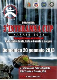 Interamna Cup 2013 - Artimarzialiperugia.It