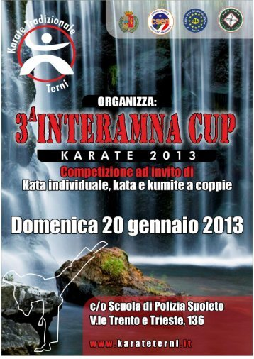 Interamna Cup 2013 - Artimarzialiperugia.It