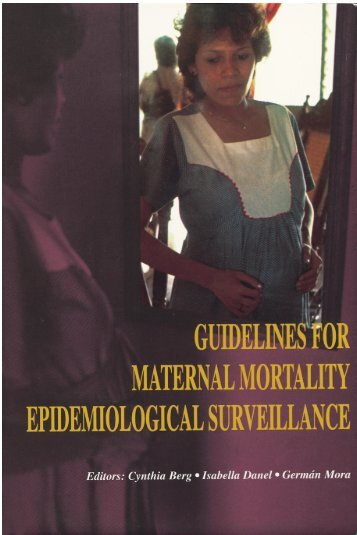 MATERNAL MORTALITY - Centers for Disease Control and ...