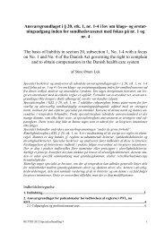 Ansvarsgrundlaget i § 20, stk. 1, nr. 1-4 i lov om klage- og erstat ...