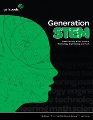Generation STEM - Full Report - Girl Scouts of the USA