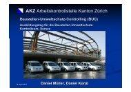 AKZ Arbeitskontrollstelle Kanton Zürich