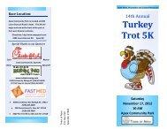 Turkey Trot 5K - Town of Apex