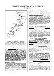 GROSSE NEUSEELAND RUNDREISE - World Travel Net