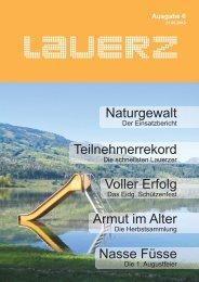 Armut im Alter Teilnehmerrekord Naturgewalt ... - Gemeinde Lauerz