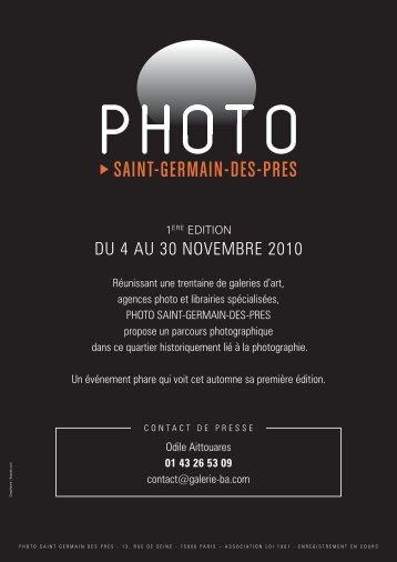 DU 4 AU 30 NOVEMBRE 2010 - Galerie Berthet Aittouarès
