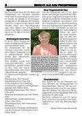 KLARENBACHBOTE - Evangelische Klarenbach-Kirchengemeinde - Page 5