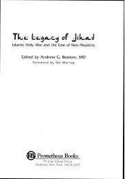 The Prophet Muhammad As A Jihad Model