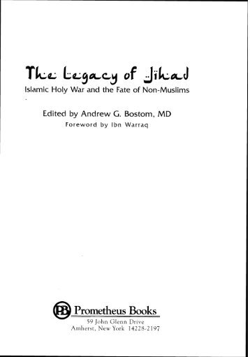 The Prophet Muhammad As A Jihad Model