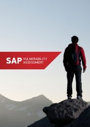 SAPVULNERABILITY ASSESSMENT - Layer Seven Security
