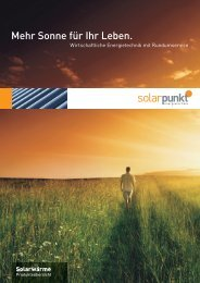 Produkteübers - Solarpunkt AG