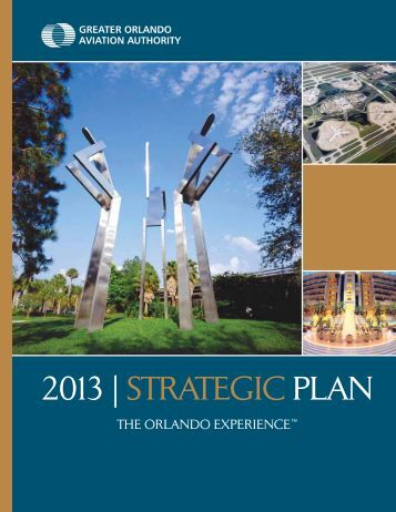 2013 | strategic plan - Orlando International Airport