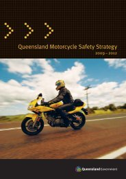 Queensland Motorcycle Safety Strategy 2009 2012 - Department of ...