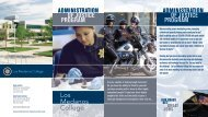 Administration of Justice Brochure - Los Medanos College