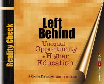 Left Behind - The Century Foundation
