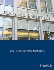 Compensation Committee Best Practices - Fenwick & West LLP