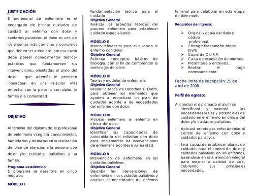 Programa Instituto Nacional De Cancerologãa
