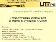 Artigo científico - UTFPR
