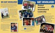 Student Activities - SAIL Brochure - University of Massachusetts ...
