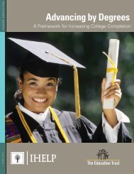Advancing by Degrees: A Framework for ... - Cal Poly Pomona