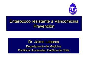 Enterococo resistente a Vancomicina Prevención