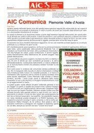 gennaio 2012 - AICa - Piemonte Valle d'Aosta