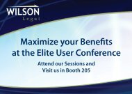 Maximize your Benefits at the Elite User Conference