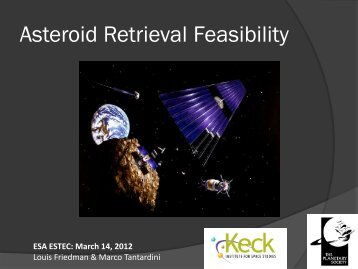 Asteroid Retrieval Feasibility - Keck Institute for Space Studies ...