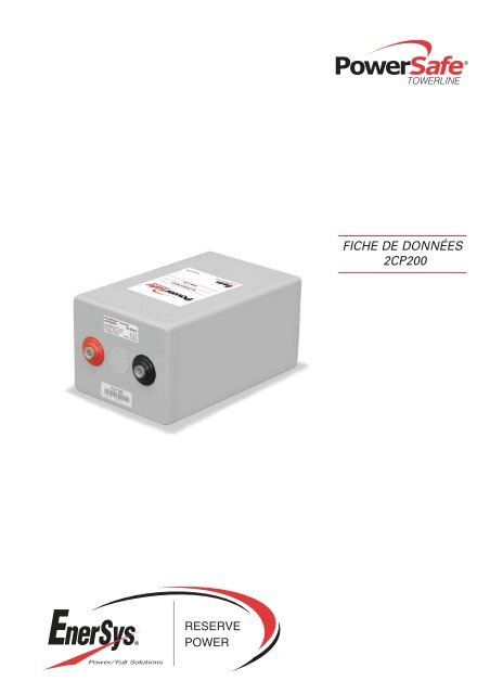 French CP200 - Enersys - EMEA