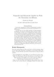 Temporale und dämonische Aspekte im Werk des Tharsonius ... - dsa