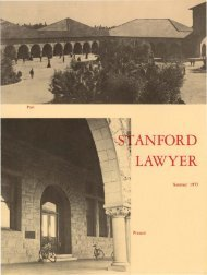 Summer 1973 – Issue 13 - Stanford Lawyer