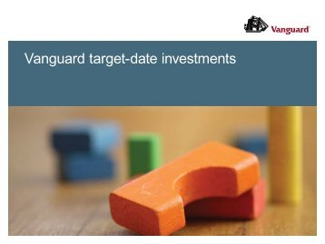 Vanguard target-date investments