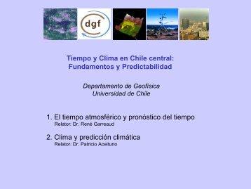 Tiempo y Clima en Chile central - Departamento de Geofísica ...
